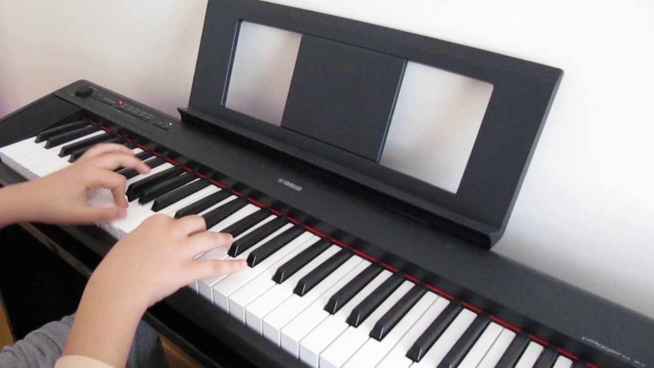 yamaha np12 piano version romance d 39 amour youtube