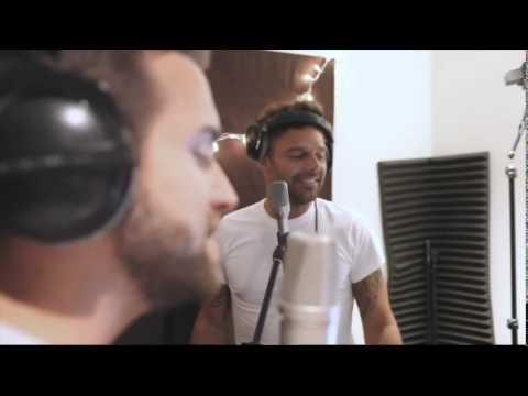 Pablo Alboran y Ricky Martin - Grabación de