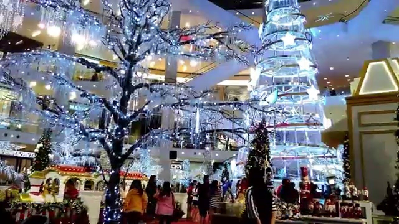 Christmas Decoration In Pavilion Kl Malaysia Youtube