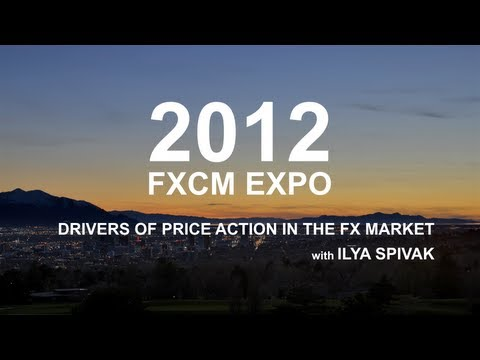 Archive Drivers of Price action in the FX Market - Ilya Spivak | FXCM Expo 2012