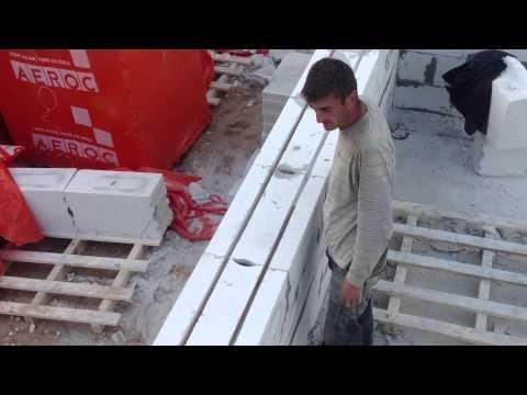 видео: Газобетон. Армирование кладки. Все по уму.