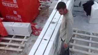 Газобетон. Армирование кладки. Все по уму.(Армирование кладки газобетонных блоков производится очень просто. Линию по которой будете штробить канавк..., 2013-09-10T19:13:22.000Z)