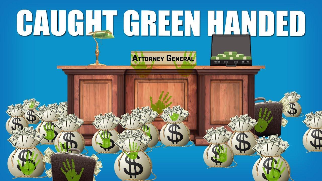 Caught Green Handed