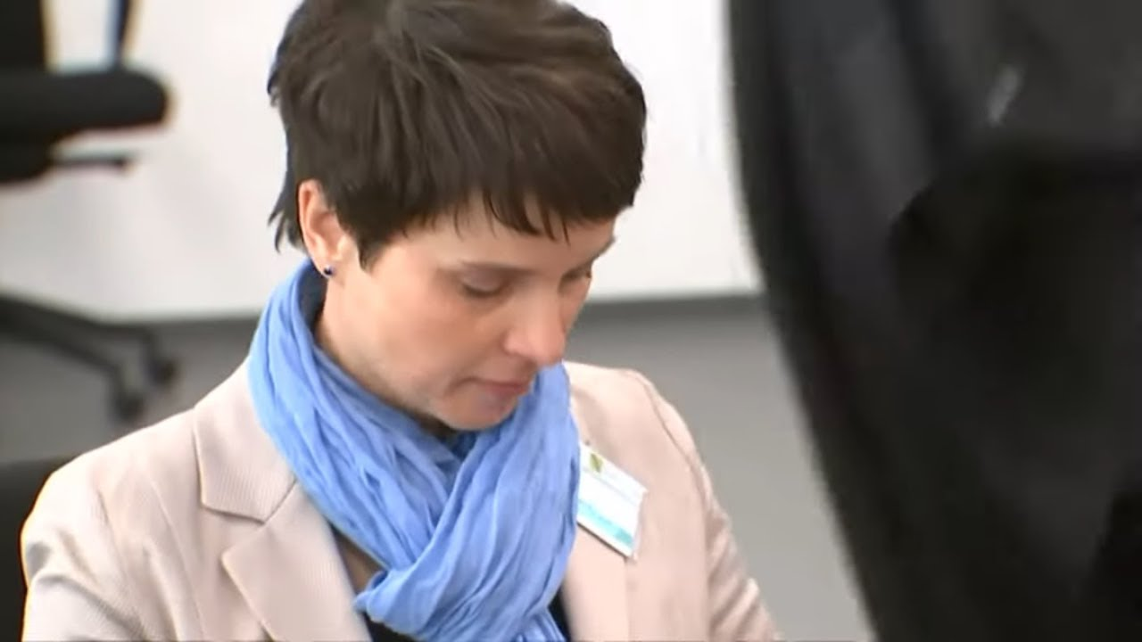 GELSTRAFE: Ex-AfD-Chefin Petry wegen fahrlässigen Falscheids verurteilt
