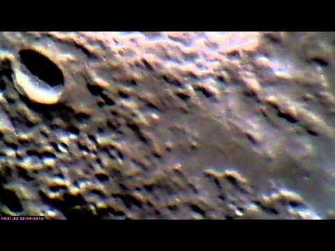 063 Moon Musings - Scorpion on the moon - 5x Barlow