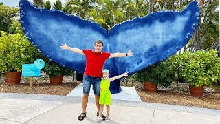 ВЛОГ Диана и Рома в Океанариуме Майами - Miami Seaquarium