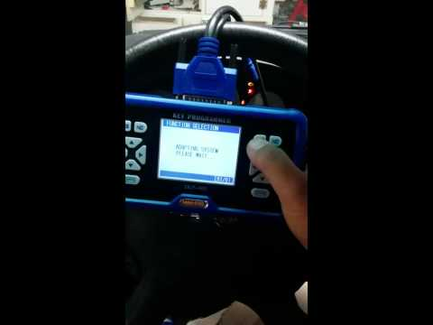 2005 Chrysler Town and country no skim read successfuly key remote programming by Skp-900