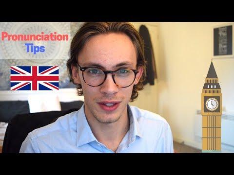 British Pronunciation Tips!