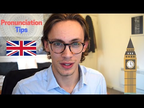 British Pronunciation Tips! Sound More British