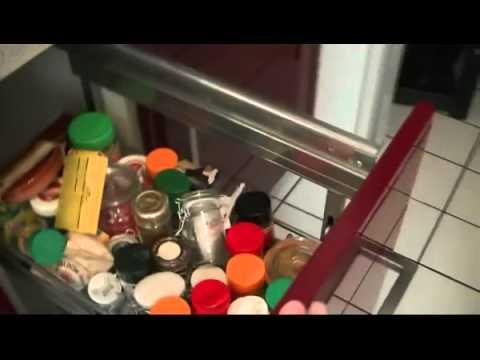 Nobilia Primo Küche, Farbe Bordeaux, inkl. Elektrogeräte, Top ...