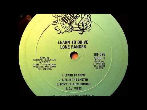 Lone Ranger - Dont Follow Rumors - LP Bebo's Music 1985 - CLASSIC RUB-A-DUB 80'S DANCEHALL