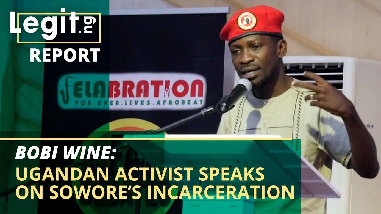 Bobi Wine: Ugandan activist speaks on Sowore's incarceration | Legit TV