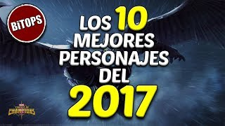 BiTOPS: Los 10 Mejores Personajes del 2017 | Marvel Contest Of Champions