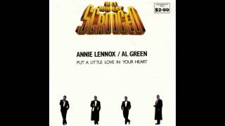 Annie Lennox & Al Green  |  Put A Little Love In Your Heart (Vocal Mix)