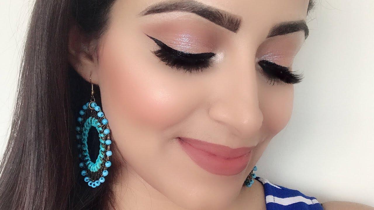 Simple Wedding Guest Makeup look for Beginners(HINDI)  Deepti Ghai Sharma