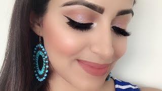 Simple Wedding Guest Makeup look for Beginners(HINDI) | Deepti Ghai Sharma