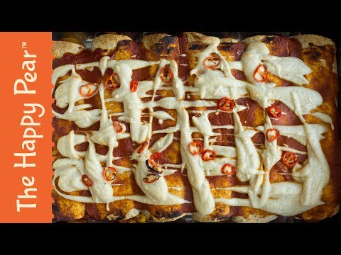 Cheap Easy & Healthy Vegan Enchiladas