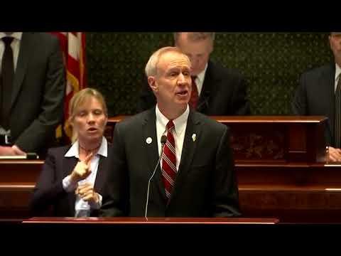 2018 State of the State Address - Illinois Gov. Bruce Rauner