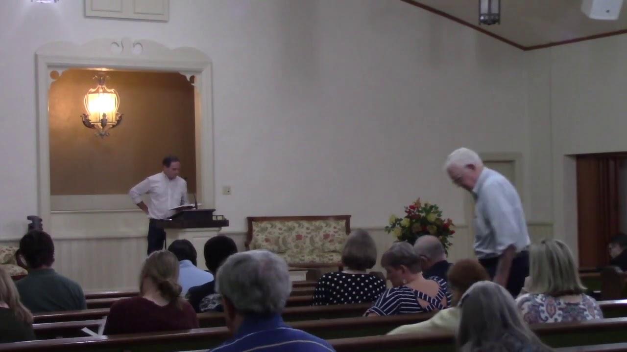 4th Street Church of Christ October 11, 2020