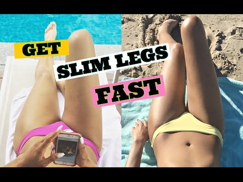 Best Leg Exercises To Lose Thigh Fat Fast/ How to Get Slim and Toned Legs Fast