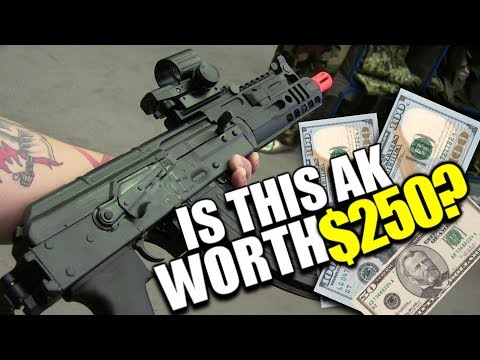 Is This AK Worth $250? - Arcturus AK05 Airsoft Review