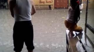 Hujan gede terminal banjir