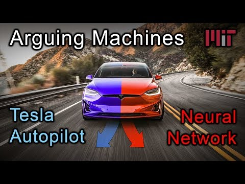 Arguing Machines: Tesla Autopilot vs Neural Network
