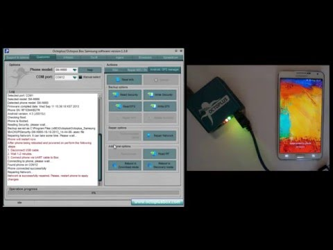 Samsung SM N900 Galaxy Note 3 Repair network المدينة فون اصلاح شبكة و فك الشفرة