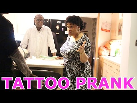 Tattoo Prank