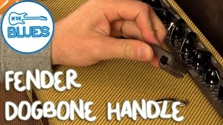 Fender Dog Bone Handle for Hot Rod Deluxe & Blues Deluxe Amps