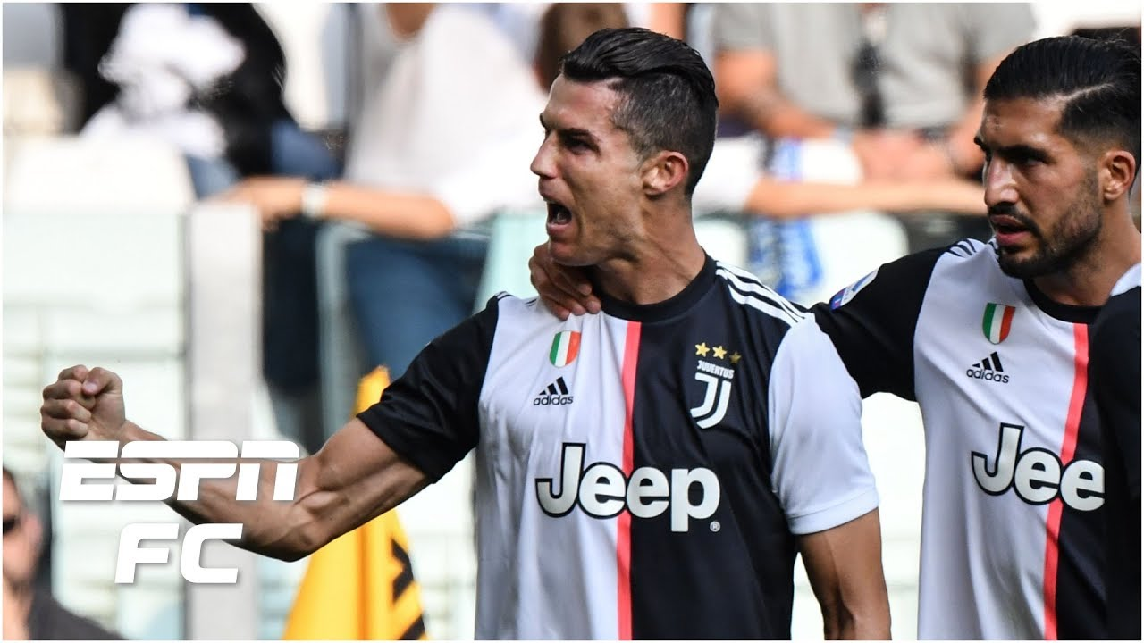 Cristiano Ronaldo Ties Serie A Goal Record as Juventus Beat SPAL ...