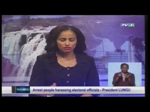 ZNBC TV 1 News  -  14th Sep. 2015 - Zambia