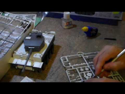 TAMIYA Tiger 1 Tank P6 by Travis From OSTRICH LONG NECK