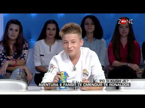 Zone e lire - 'Po ti kush je?' Aventura e fansit te cmendur te Ronaldos! (11 shtator 2015)