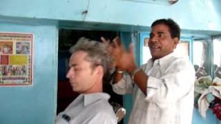 A Visit to the Barber in Bundi