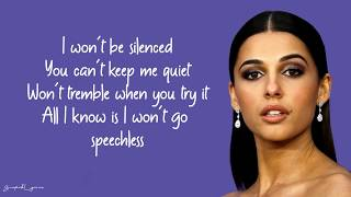 Gambar cover Naomi Scott - Speechless (Lyrics)