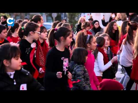 Latina - FlashMob One Billion Rising 2014