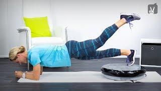 Vibrationsplatten Training: Workout für einen starken Rücken