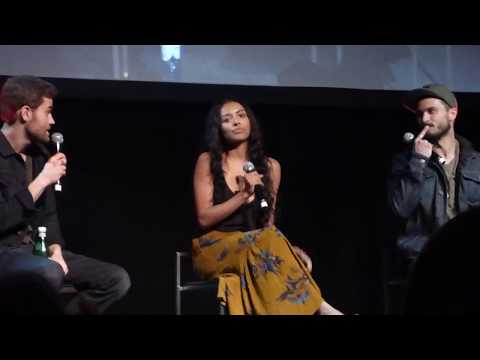 BloodyNightCon 2017 - Michael Malarkey , Kat Graham and Paul Wesley // First meeting on Set