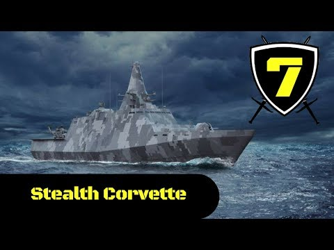 Saab - Flexpatrol 98 Stealth Next Generation Multi-Mission Corvette Simulation