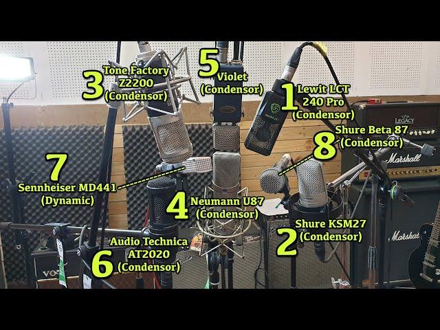 VIDEO KUNCI JAWABAN 8 Microphone untuk Rekaman, Mana yang Paling Juara ?