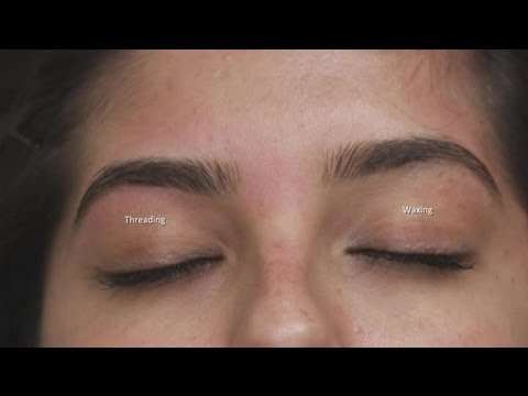What Is The Difference Between Ing Threading Eyebrow Grooming More