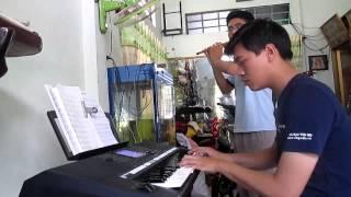 C.D.H Mời Chúa vui trung thu cover (flute+piano)