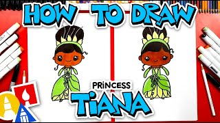 How To Draw Princess Tiana From Princess And The Frog