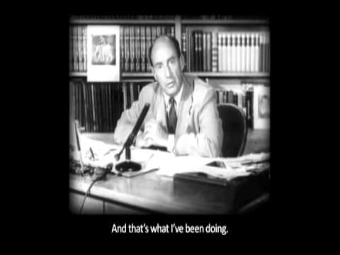 Adali Stevenson 1956 Presidential Campaign AD