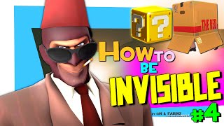 TF2: How to be invisible #4 (pl_goldrush griefing)