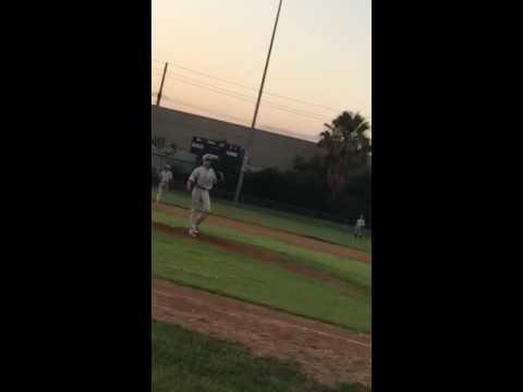 2018 RHP Anthony Diaz Colton Nighthawks (Serrano High School)