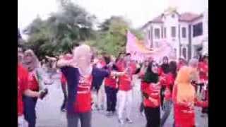 Flash Mob Kem Penggiat Seni Putra 2014