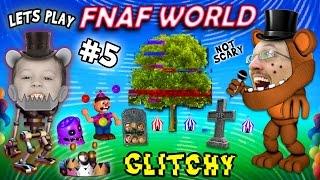 - Lets Play FNAF WORLD 5 Graveyard Gets Glitchy w FGTEEV Duddy Chase NEW AREAS UNLOCKED