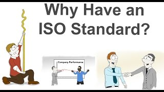 Why Have an ISO Standard   ISO Standards